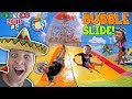 GIANT BUBBLE WATER SLIDE Cancun Mexico Waterpark Moon Palace Grand FUNnel Vision Mexico 2018