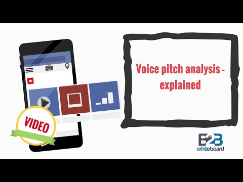 Voice pitch analysis - explained