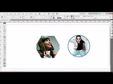 Adobe InDesign: Using the Frame Tools and Shape Tools with Images