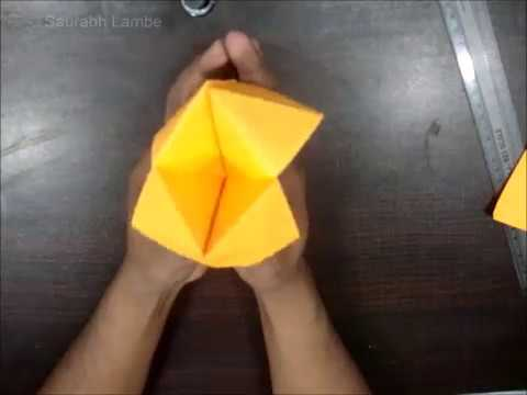 How to Make a Paper Fortune Teller.