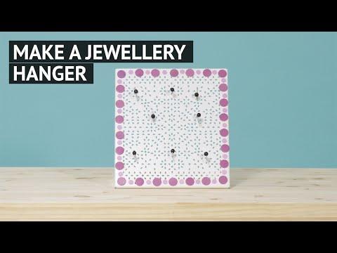 Make a jewellery hanger