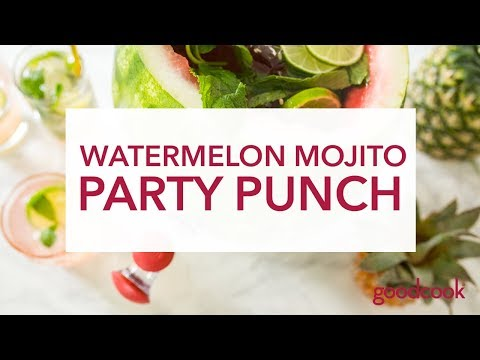 Watermelon Mojito Party Punch