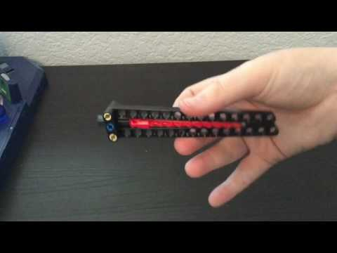 Lego Butterfly knife - Quick and easy Tutorial