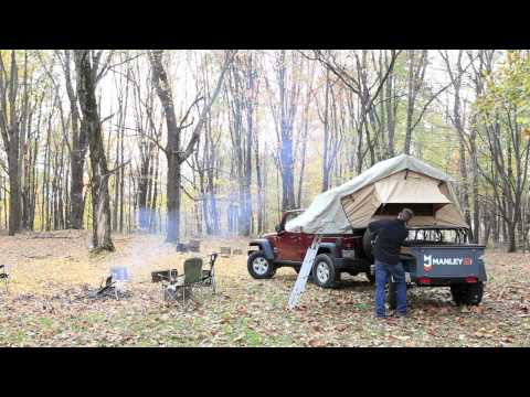Setting up an ARB Simpson III Rooftop Tent (ARB3101 RTT)