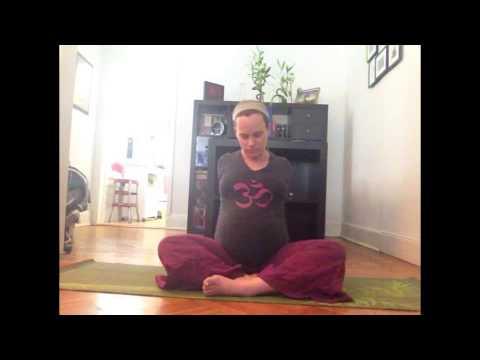 Prenatal Yoga - Neck & Shoulder openers