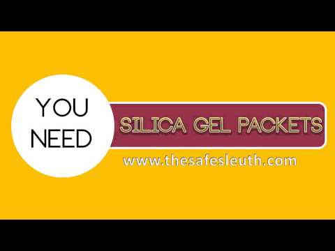 Silica Gel Packets for your Home Safe
