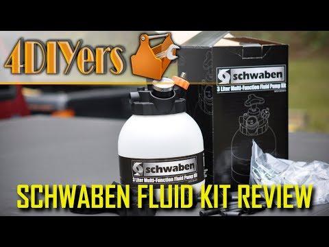 Review: Schwaben 3 Liter Multi Functional Pressure Filler System