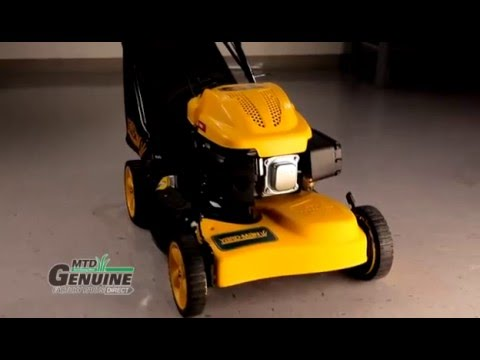 How-to Change a Self-Propelled Push Mower Belt