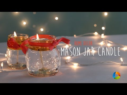 DIY : Mason Jar Candle
