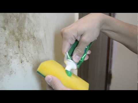 How to clean dirty walls easily - DIY 2017