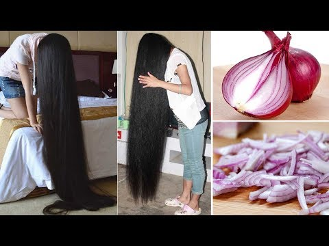 Super fast Hair Growth Challenge with Onion – 100% Guaranteed Result