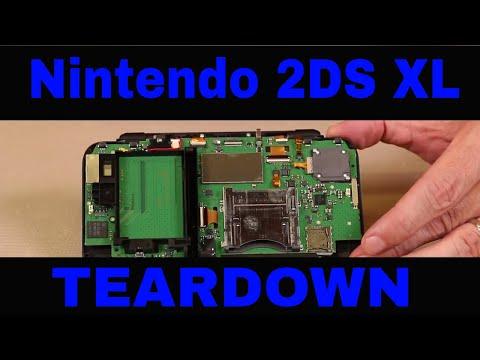Nintendo 2DS XL Teardown - Full, Detailed Disassembly Guide