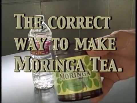Moringa Tea Made Correctly