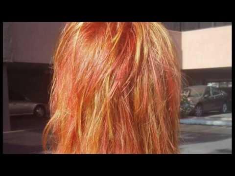Toning Orange Hair How