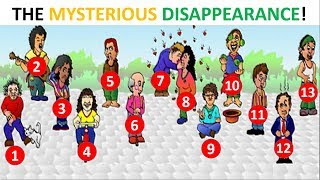 OPTICAL ILLUSION: THE MYSTERIOUS DISAPPEARANCE - Can you solve it?