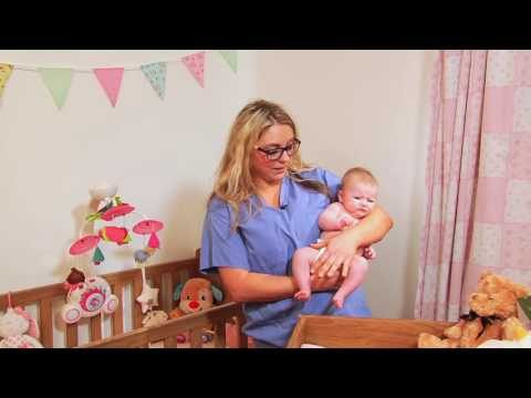 Colic baby massage - 'Tiger in the tree technique'