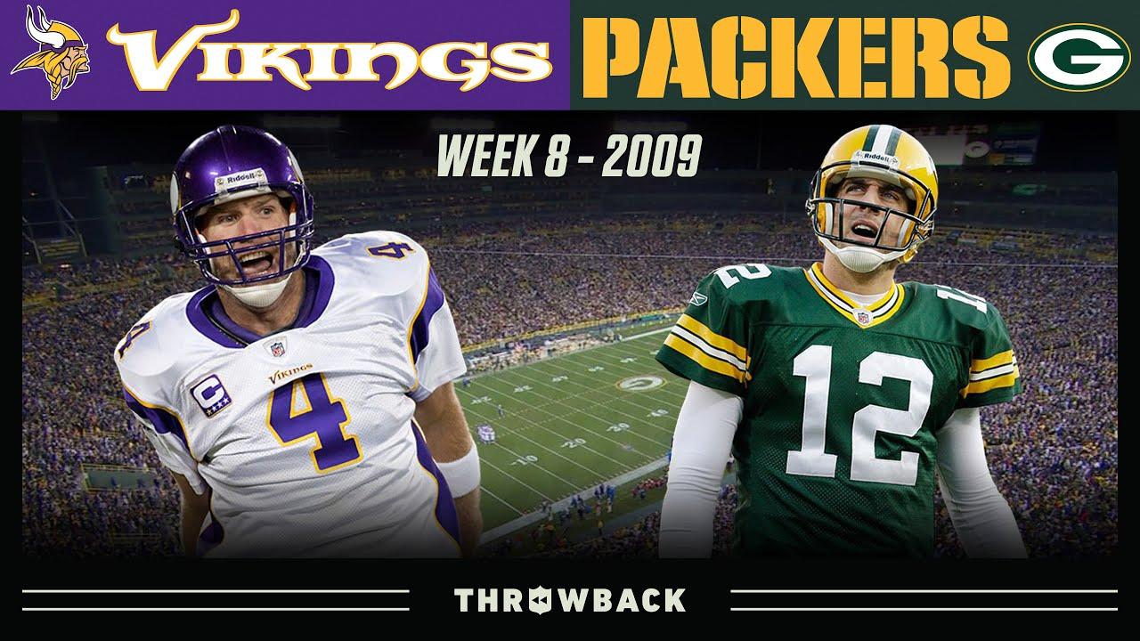 Favre's Return to Lambeau! (Vikings vs. Packers 2009, Week 8)