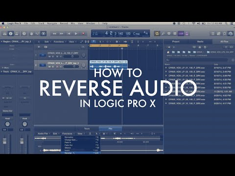 How to Reverse Audio in Logic Pro X | Quick Tips and Tricks