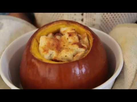 How to Make a Savory Stuffed Pumpkin