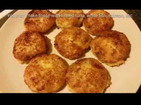 how to make fish cakes recipe