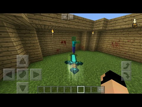 MCPE 1.2 How To Get Realistic Throwable Sword | Command Block Creation