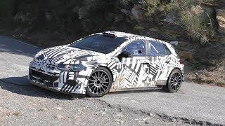 VW Polo R5 WRC2 | Tarmac Test [HD]