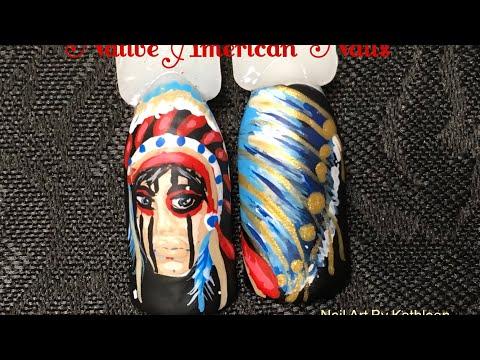 Native American Nail Art (Request)
