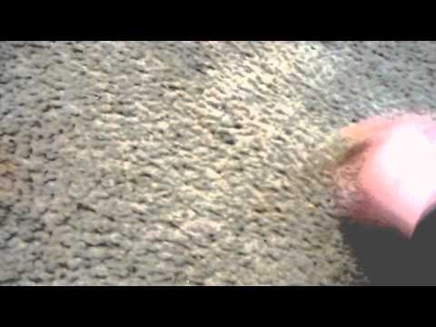 How to get out black stains in white carpet