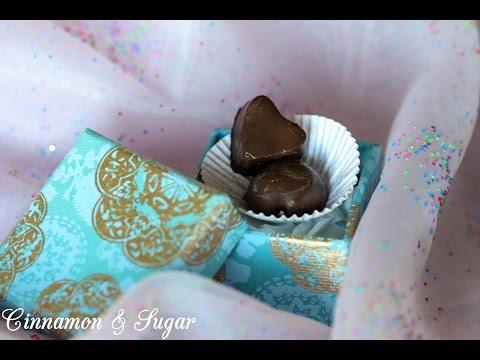 Irish Cream Ganache Chocolates