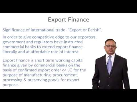 CARE Training - Export and Import Financing