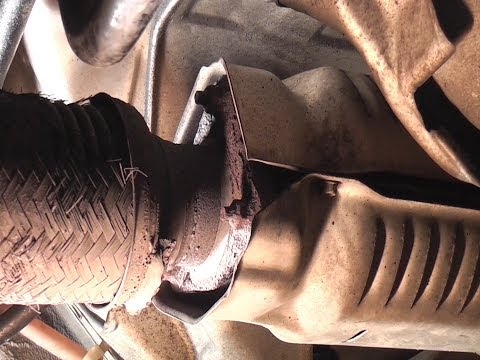 Removing Rusted Honda Exhaust Fasteners
