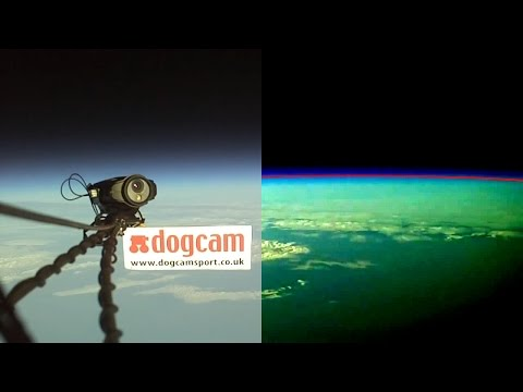 100% proof of flat earth? Or is it? Dogcam high altitude balloon flight put to the test