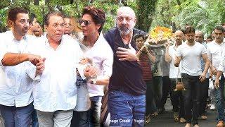 EMM0T!0NAL Dharmendra Arrived Wid Sharukh Sanjay Dutt & $unnyyDeol @ Ritik's Grandfathr LA$TR!TUAL