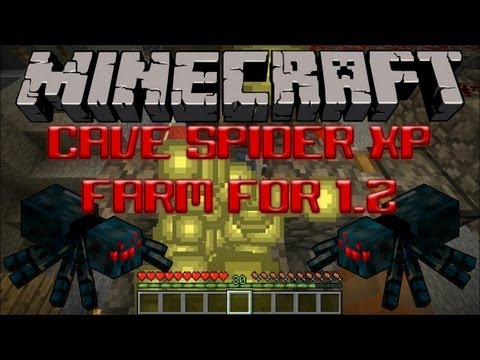 Cave Spider XP Farm For 1.2 Tutorial