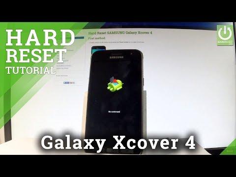 SAMSUNG Galaxy Xcover 4 HARD RESET / Bypass Screen Lock / Restore