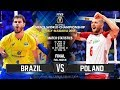 GOLD Collection Brazil Vs Poland FINAL Full Match 2018 FIVB Volleyball World Championship