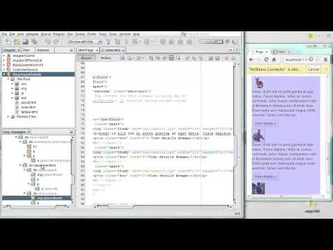 HTML5, JavaScript & CSS3 in NetBeans IDE