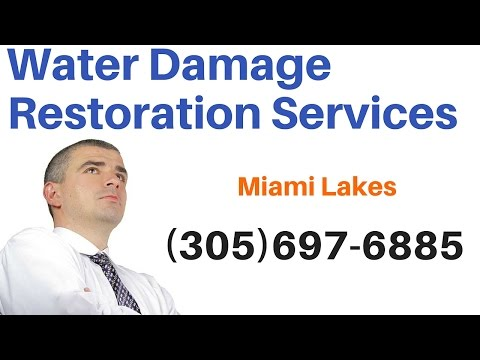 Emergency Water Damage Repair Services in Miami Lakes, Florida