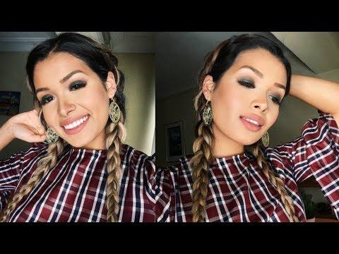 SMOKEY Glam: Holiday Makeup Tutorial (VEGAN + CRUELTY FREE) | ItsMandarin