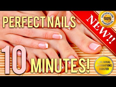 🎧 GET THE PERFECT NAILS IN 10 MINUTES! SUBLIMINAL AFFIRMATIONS BOOSTER! REAL RESULTS DAILY!