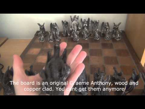 Pewter Figurines & Chess Sets (Royal Selangor & Greame Anthony)