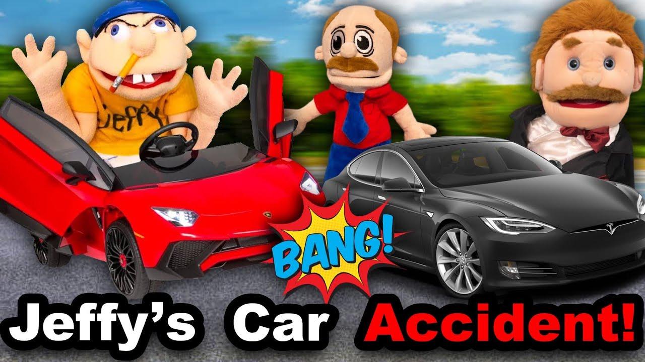 SML Movie: Jeffy's Car Accident!
