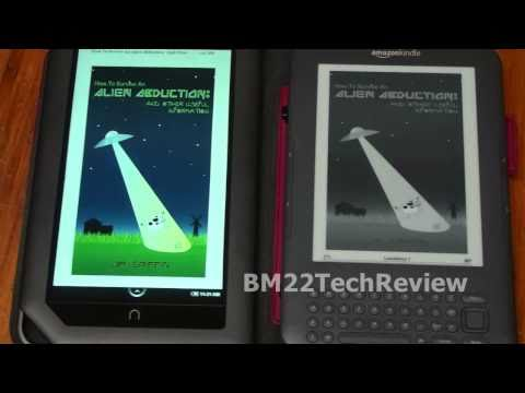 Nook Color from Barnes and Noble: Review and Unboxing