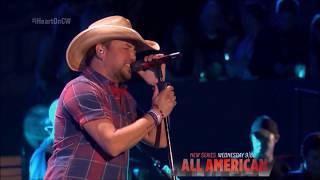 "Jason Aldean sings ""You Make it Easy"" Live in concert iHeartradio 2018 HD 1080p"