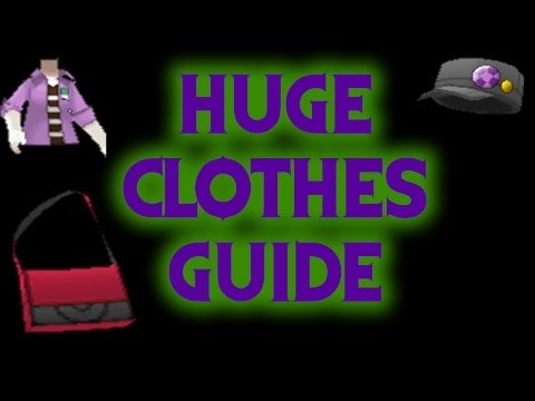 HUGE Clothes Guide! - Pokemon X and Y Guide!