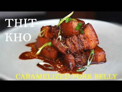 Thit Kho (Vietnamese Caramelized Pork Belly)
