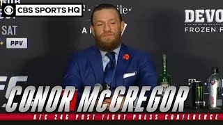 Conor McGregor: UFC 246 Post Fight Press Conference | CBS Sports HQ