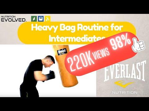 An Intermediate  Heavy Bag Routine