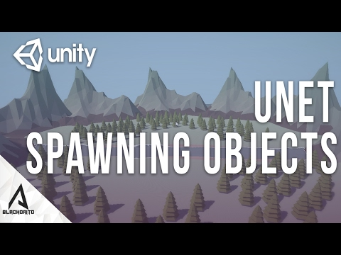 UNET | Spawning Objects Over Network - (Unity 5 Multiplayer) | C#