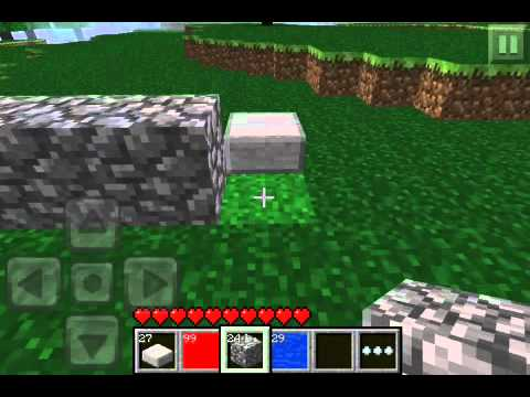 Minecraft PE How to make a TNT cannon!!
